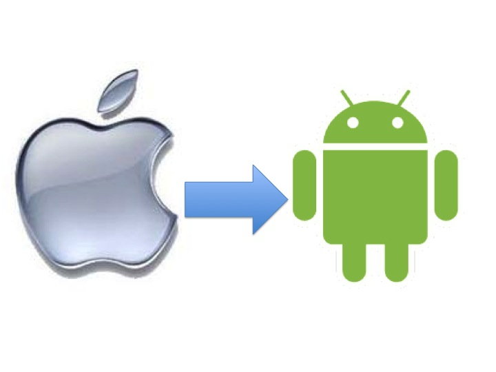 Goodbye iOS, Hello Android